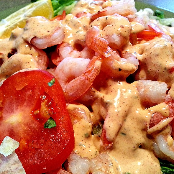 shrimp salad @ Tony & Michelle's Kitchen