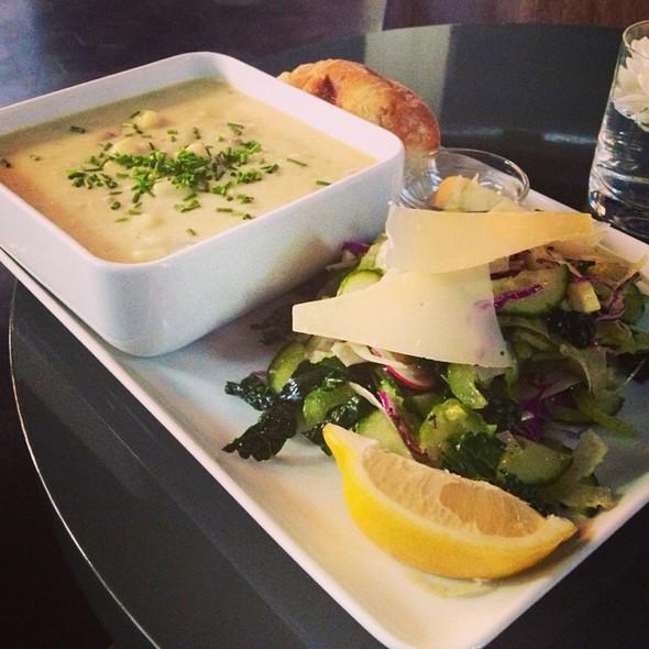 Potato Chowder & Salad
