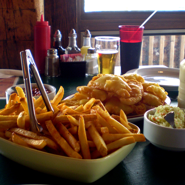 Fish and Chips @ Henry's South Fish Restaurant