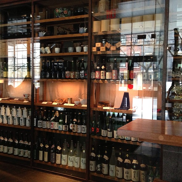 Lots And Lots Of Sake Choices - EN Japanese Brasserie, New York, NY
