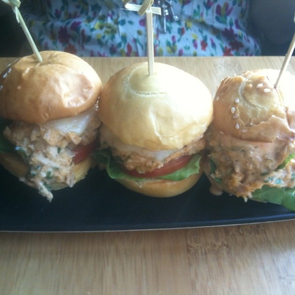 Tuna Tartar Sliders - Tantalum, Long Beach, CA