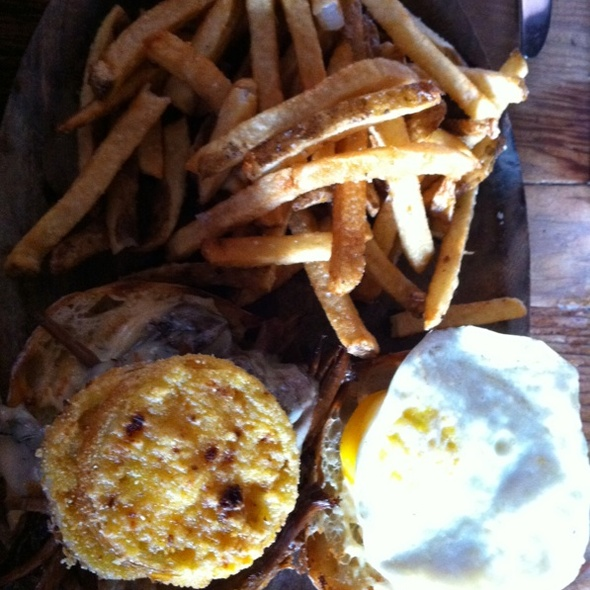 Brisket & Fried Egg Sandwich @ Smith