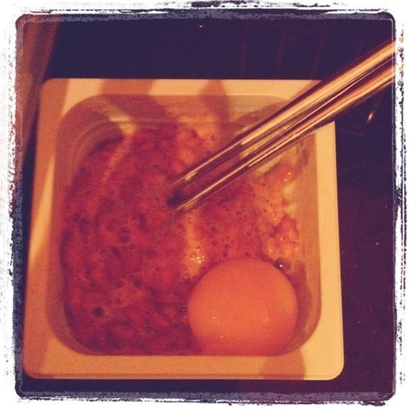Natto + Raw Egg @ ATA and SWG HQs