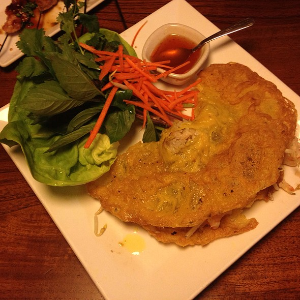 Vietnamese Crepe @ Star Noodle