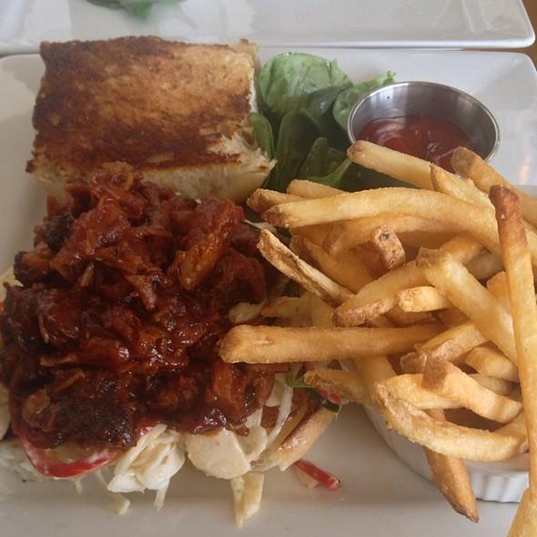 Big Pig Sandwich - Zed's Restaurant, Austin, TX