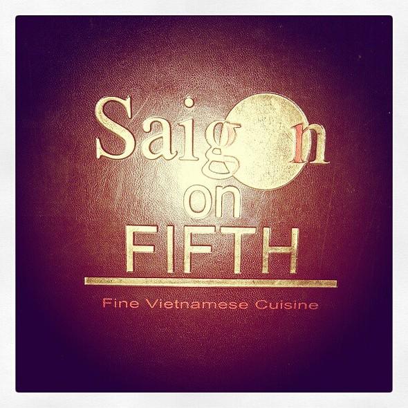 Super late din-din! @ Saigon On Fifth