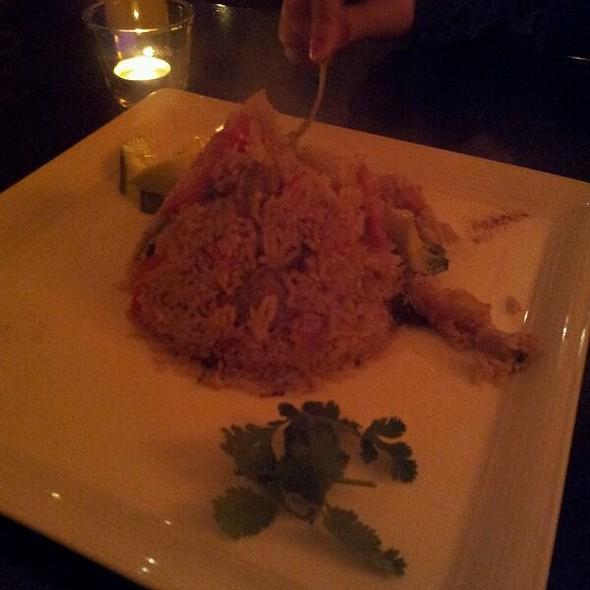 Spicy Basil Fried Rice @ Thiptara Thai Restaurant