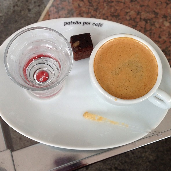 Espresso @ Cafe Do Ponto