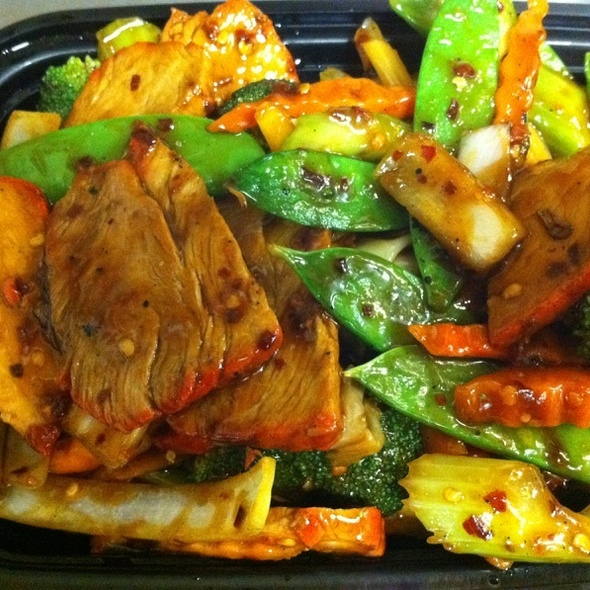 Spicy BBQ Pork W/ Mix Vegetables
