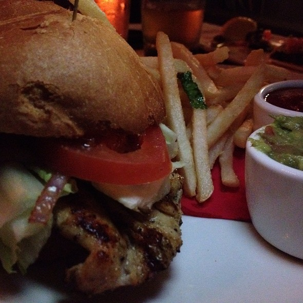 Grilled Chicken Sandwich @ Barrelhouse