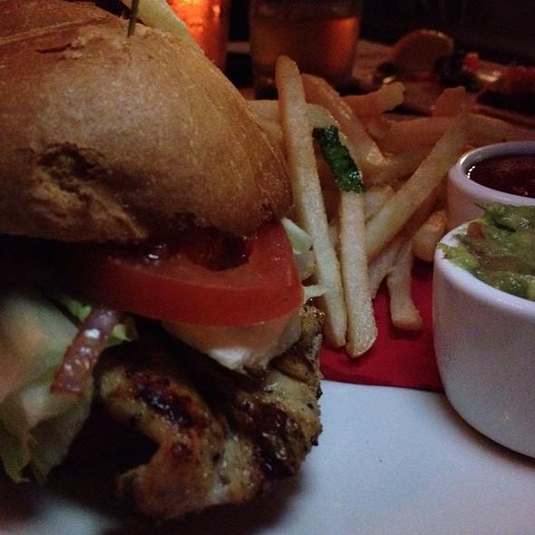 Grilled Chicken Sandwich @ Barrelhouse