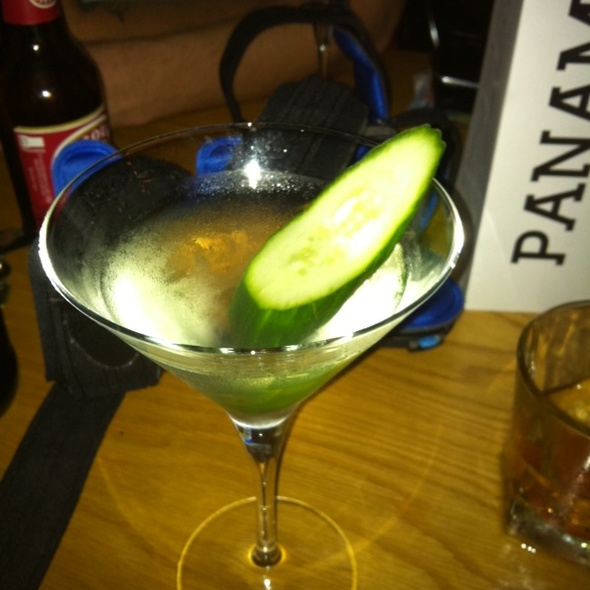 Hendricks Martini At Panama Dining Room And Bar