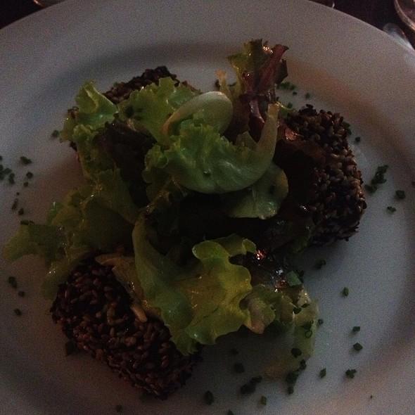 Salada De Brotos Com Queijo Coalho @ Ponto G Gastronomia