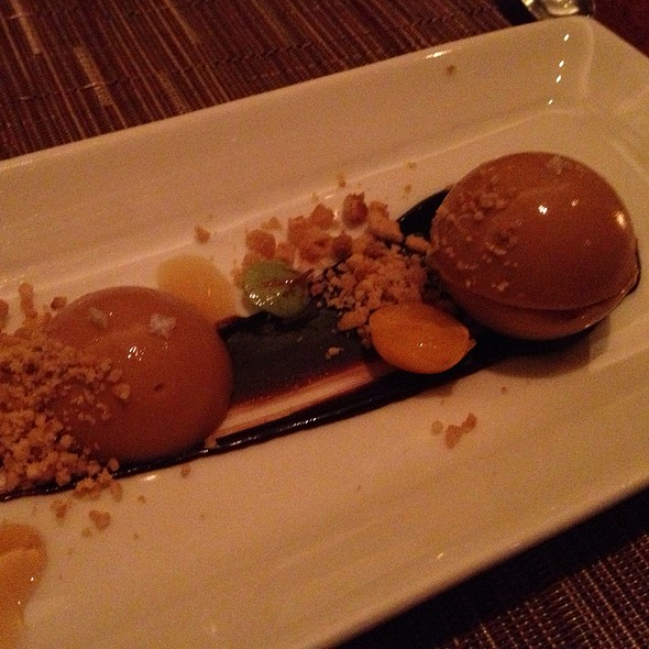 Panna Cotta, White Chocolate, Brown Butter, Sea Salt - Dettera Restaurant & Wine Bar, Ambler, PA