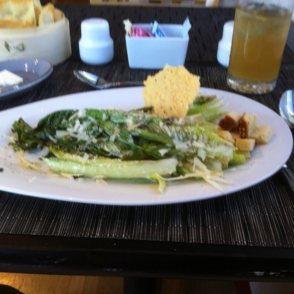 Grilled Romaine Ceasar Salad @ Bistro 31