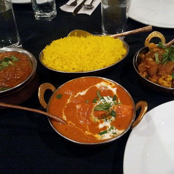 Aloo Goobi @ Baadshah Royal East Indian Cuisine
