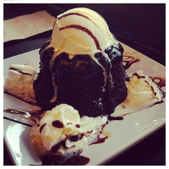 Chocolate Lava Cake - The Tea Bar, Fort Lee, NJ