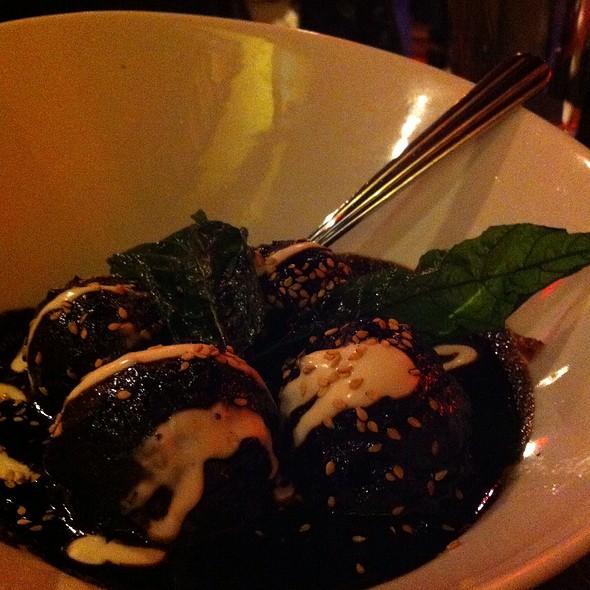 Chicken, Corn, And Cilantro Meatballs - Frida Bistro, Salt Lake City, UT
