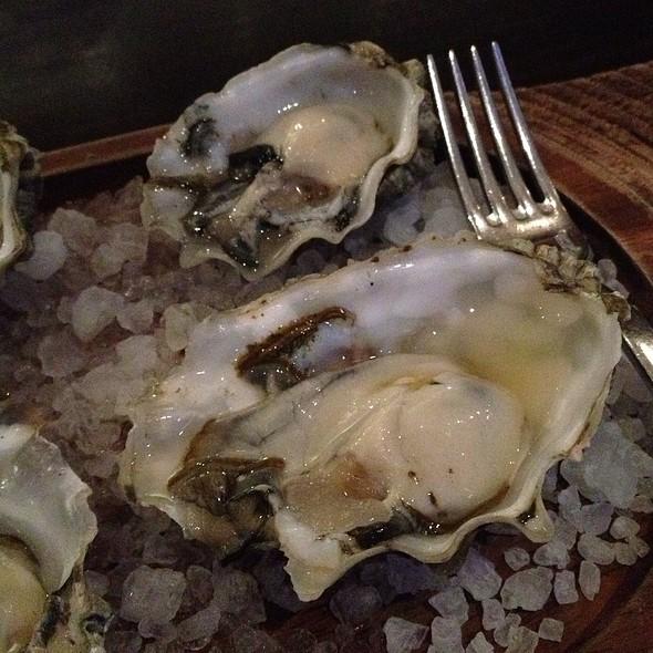 Oysters With Juniper Granita - Urbane, Seattle, WA