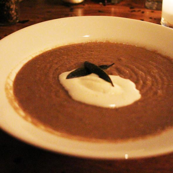 Creamy Mushroom Soup @ Birba