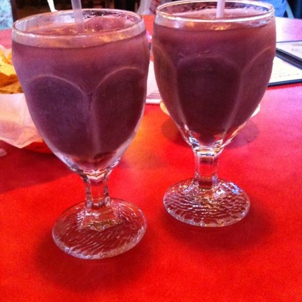 Purple Margaritas @ Baby Acapulco