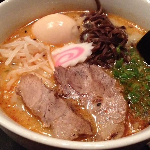 Tonkatsu Ramen @ Kirimachi Ramen