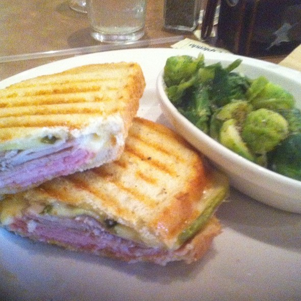Cuban Panini With Brussel Sprouts @ The Brick