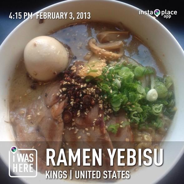 Miso Ramen @ Ramen Yebisu