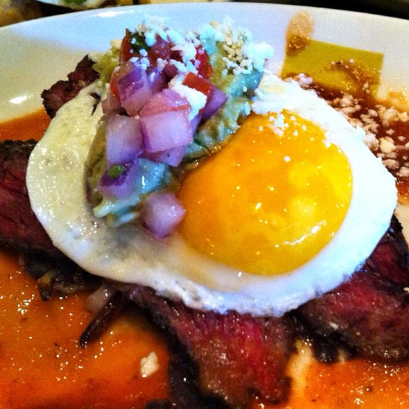 Skirt Steak And Egg - Border Grill – Mandalay Bay, Las Vegas, NV