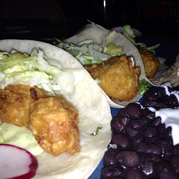California Fish Tacos  - Rocco's Tacos & Tequila Bar - Fort Lauderdale, Fort Lauderdale, FL