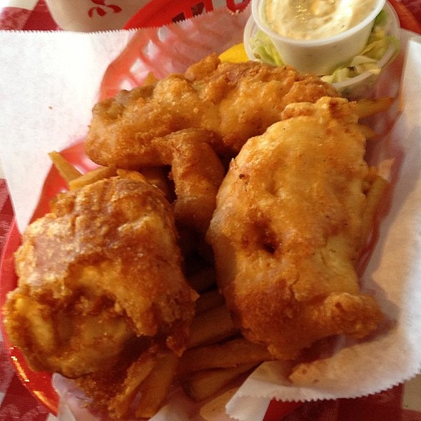 Fish and Chips @ Old Port Lobster Shack