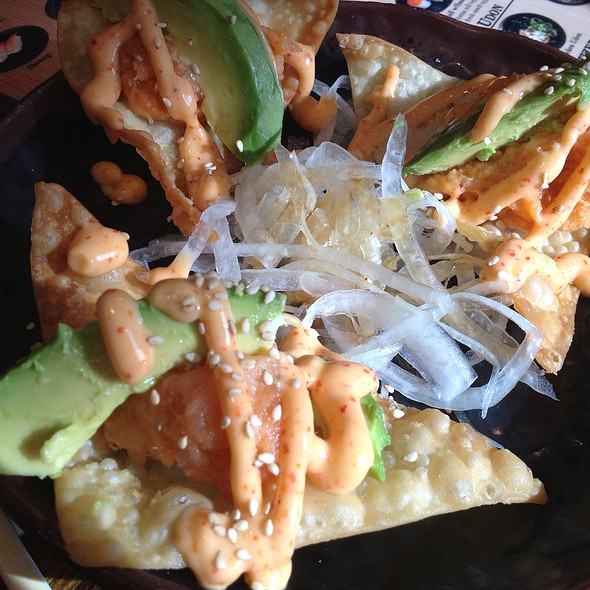 Spicy Albacore Tartare @ Sushi Stop