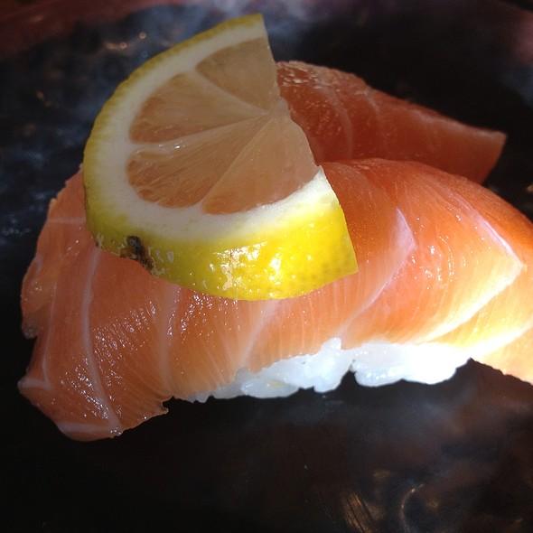 Salmon sushi @ Sushi Stop