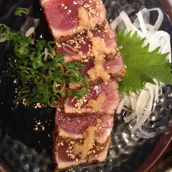 Peppered Seared Ahi Tuna @ Sushi Stop