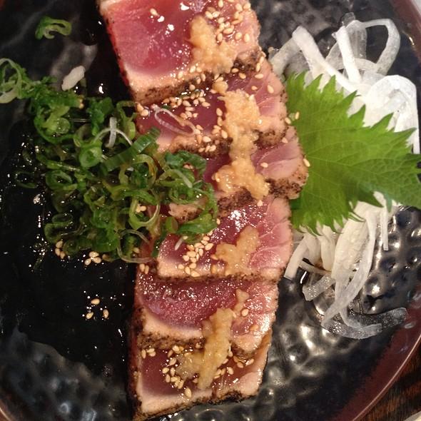Peppered Seared Ahi Tuna @ Sushi Stop