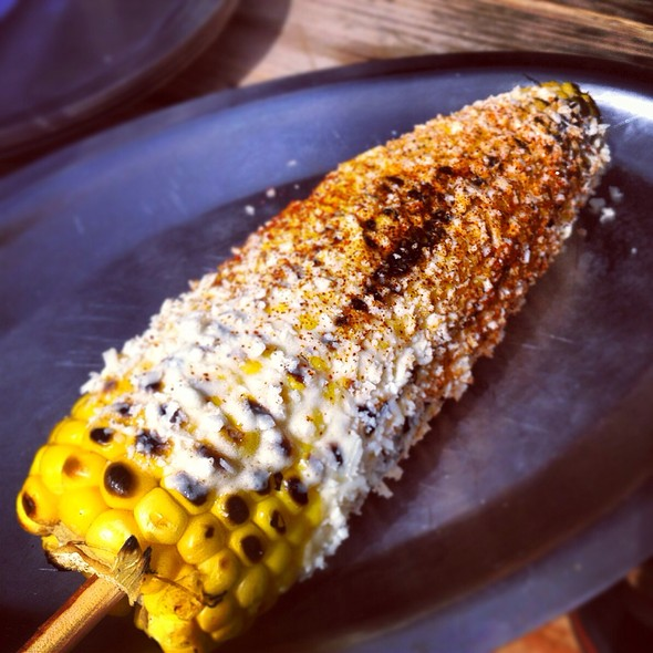 Mexican corn - Woodshed Smokehouse, Fort Worth, TX