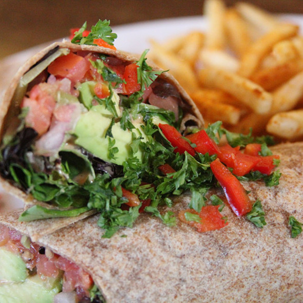 Twister Wrap @ Native Foods