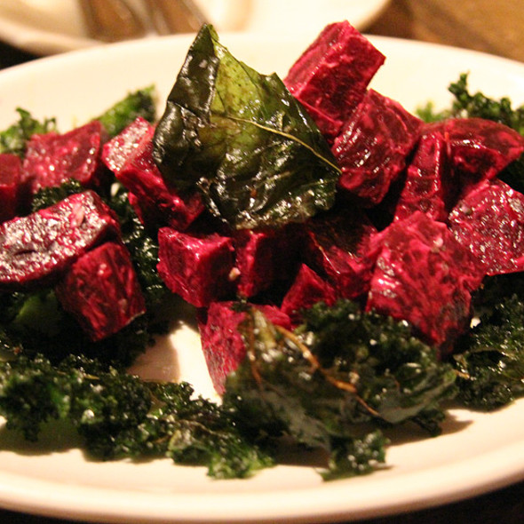 Bett Salad with fried Kale @ Empire Lounge & Restaurant