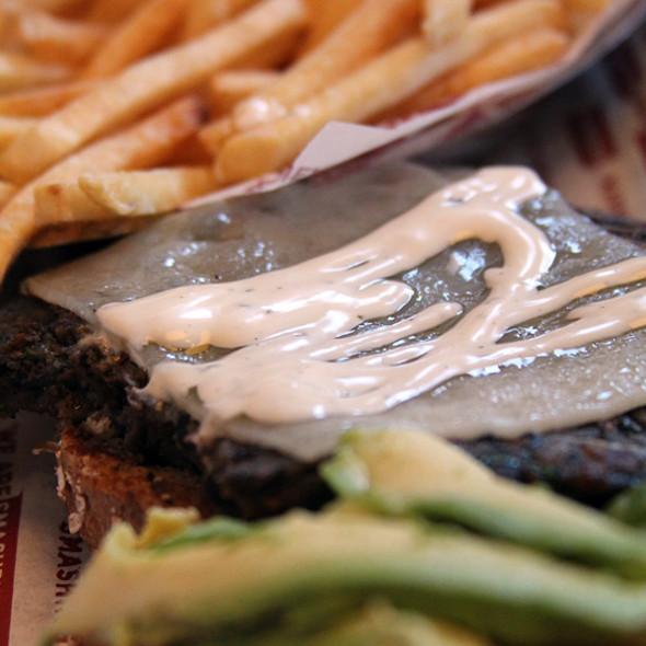 Black Bean Burger @ Smashburger