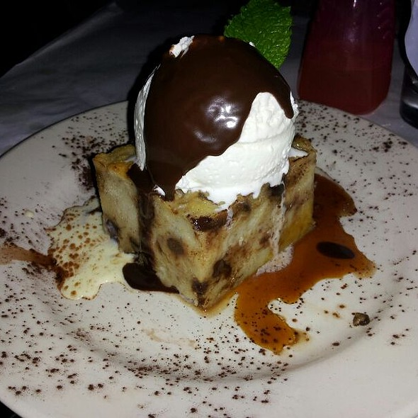 Banana Bread Pudding - Francesca's on 95th, Oak Lawn, IL