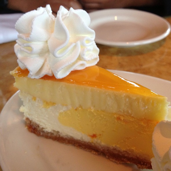 Mango Key Lime Cheesecake @ The Cheesecake Factory