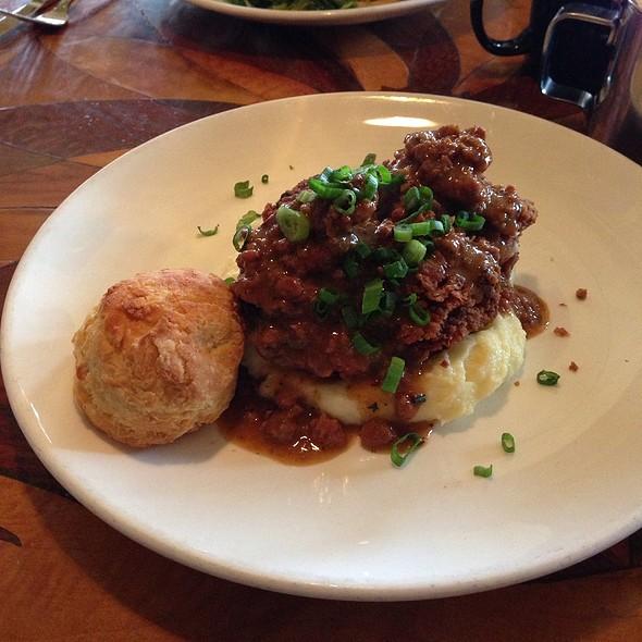 Fried Half Chicken With Tasso Black Pepper Gravy - Toulouse Petit Kitchen & Lounge, Seattle, WA