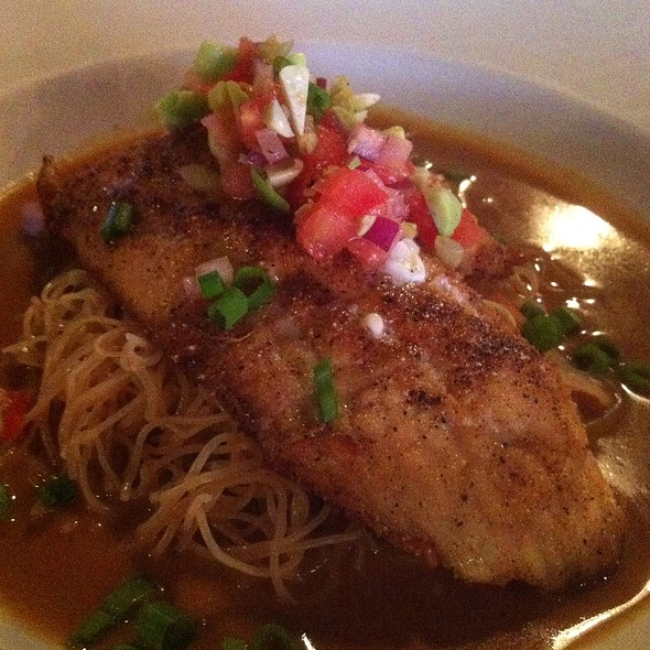 Fish Of The Day: Grouper @ Vintij Wine Boutique & Bistro