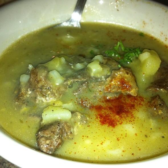 Lamb Shawarma Lentil Soup @ Habibi Restaurant