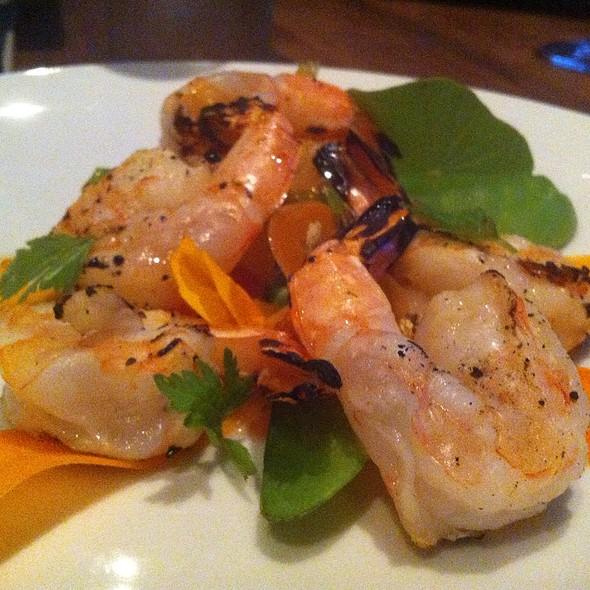 Grilled Shrimp Salad @ Underbelly