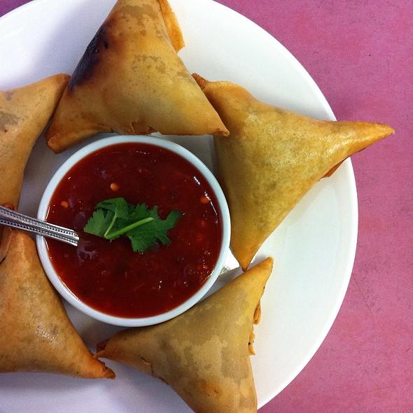 Samosas @ Mahnin Asia Restaurant