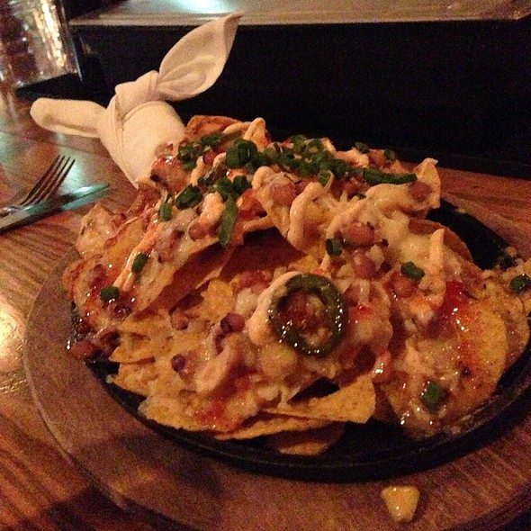 Shrimp & Chicken Nachos
