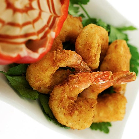Breaded Shrimp @ Kalamazoo Grill & Restaurant