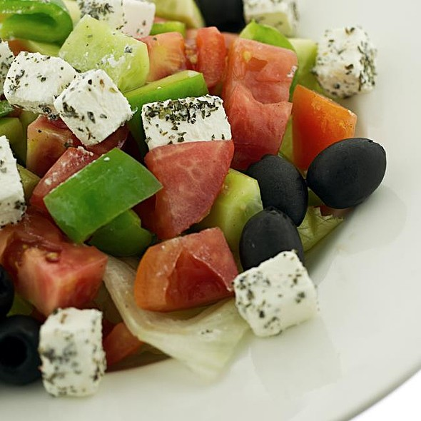 Greek Salad @ Kalamazoo Grill & Restaurant
