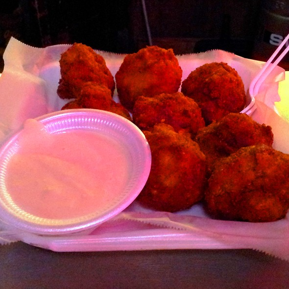 Stuffed Mushrooms at Skippers Smokehouse and Oyster Bar